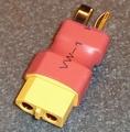 Verloopstekker adapter van DEAN-Male-XT60-Female 1 st 82041