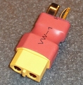 Verloopstekker adapter van DEAN-Male-XT60-Female 1 st 82041