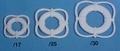 Aeronaut reddingsring wit 8mm 24 stuks Envelop