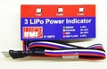 BMI 19813 LiPo power indicator LED 3 cell Envelop