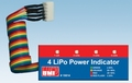 BMI 19814 LiPo power indicator LED 4 cell Envelop