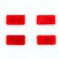 Veroma 222518 Rode reflector 12x6mm 4 stuks Envelop