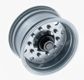 Carson 907054 Oplegger aanhanger velg brede band grijs 2x