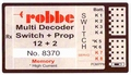ROBBE MULTI-SWITCH-PROP 12+2 DECODER 8370  Pakket