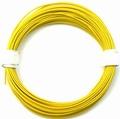 PVC Litze 1-aderig dun-soepel 0,14mm2  GEEL 10M nr.51413 Envelop