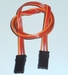 Patch kabel UNI-JR-Graupner 3x0,25mm2  10cm  58133