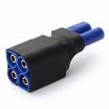 Verloopstekker Kurz adapter EC5-seriell, 1 St 84053 Envelop
