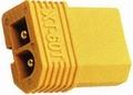 Verloopstekker Kurz adapter XT60 Male-Tamiya female  84044