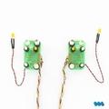 Carson 907391 MAN Schijnwerper platine voor 7,2 Volt Tamiya Envelop