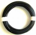 PVC Litze 1-aderig dun-soepel 0,08mm2  ZWART 10M nr.51431 Envelop