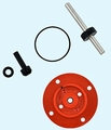 Raboesch 108-31 Cover and gearset for 108-30