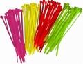 Kabelbinder Tie-wrap GEEL 98x2,5mm  zakje a' 20stuks Envelop