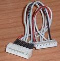 LIPO adapterkabel 6 cell XH naar EH siliconen 10cm nr. 58497 Envelop