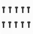 Graupner inbusbout staal zwart M3x8mm pack of 20 nr. 565.8 Envelop