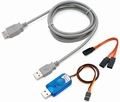 Multiplex 85149 USB PC-Kabel RX+S+Telemetrie (UNI) Envelop