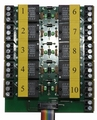 Beier AKL-10-R-12V relaisplaat 10x voor  USM-RC2 / EXM-2 Envelop