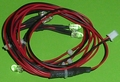 Led Geel/orange 6x 5mm voor TAMIYA MFC met stekker 7,2V-12V Envelop