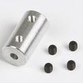 Graupner SZ1018.6 ALU askoppeling asmaat 3,2x3mm