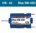 Raboesch 109-43  Bow Thruster Motor Bleu RM 430 -12V Pakket
