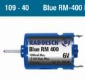 Raboesch 109-40  Bow Thruster Motor Bleu RM 400 -6V Pakket