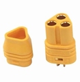 MT30 Goldplug 2mm 3x Brushless  KORT FEMALE 81220 Envelop