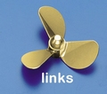 Rivabo Krick Ms-Propeller LINKS 3-Bl. 60mm, M5 nr. 535-61 Envelop