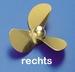 Rivabo Krick Ms-Propeller Rechts 3-Bl. 55mm, M5 nr. 535-56 Envelop