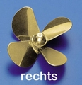Rivabo Krick Ms-Propeller Rechts 4-Bl. 70mm, M5 nr. 545-71