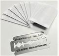 Robbe 6098 Scheermesje voor Balsa Hobel schaafje 6099- 10st Envelop
