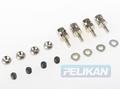 Pelikan  Stang aansluiting Servo 1,7mm  4st Nr.  8KM8524 Envelop