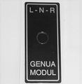 Robbe Futaba Label Genua modul 1x  98-0198 Envelop