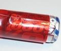 Krimpkous PVC Accupack 2:1  37mm plat rond 24mm Rood 0,2M Envelop