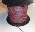 Siliconen draad 2 aderig Gedraaid rood/zwart 0,50mm2 -0,5M Envelop