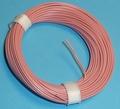 PVC Litze 1-aderig dun-soepel 0,14mm2  Rose 10M nr.51416 Envelop