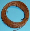 PVC Litze 1-aderig dun-soepel 0,14mm2  BRUIN 10M nr.51418 Envelop