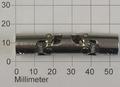 Kruis Koppeling Dubbel 6-6mm Metaal 52mm lang, Robbe 5222
