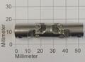 Kruis Koppeling Dubbel 4-4mm Metaal 52mm lang, Robbe 5220