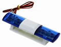 JAMARA  Dak Light Bar Round Blauw LED, Blitz and turn Pakket