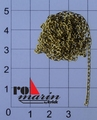 Krick ro1309 ankerketting koperkleurig Typ F50 (3mm) 1meter Envelop