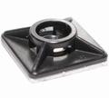 Kabelbinder Plakzadel 27x27mm ZWART 4,8mm Tyreb Envelop