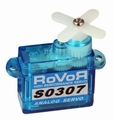 Robbe ROVOR S0307 Servo 3,7 Gram 4,8V 0,8Kg 0,12s   Envelop