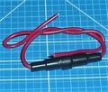 Zekeringhouder mini glaszekering 4Amp 20x5mm Beier Envelop