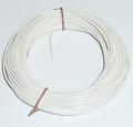 PVC Litze 1-aderig dun-soepel 0,14mm2  WIT 10M nr.51415 Envelop