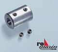 Romarin ro1450 Navy direct ALU askoppeling as 5x4mm