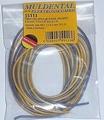 Silicone draad BLAUW-GEEL 0,5mm2  4meter nr. 55113 Envelop