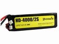 D-Power HD-4000 2S Lipo (7,4V) 30C - mit XT60 Stecker