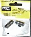Aandrijf koppeling met veer-as 3,17/3mm VE2 stuks  7034/20 Envelop