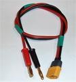 laadkabeL siliconen voor XT60 kap 50cm 2,5mm2  25AMP 58826s
