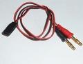 Laadkabel PVC Robbe-Futaba accu 0,35mm2- 60cm 9-4002-2
