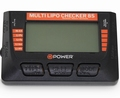 D-Power Multi Lipo Checker 8S, Balancer,Servotester,Akkutest Envelop